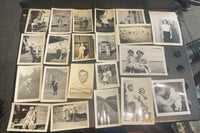 21 VIntage Black & White Photos American Family NOSTALGIC OLD FASHION Originals