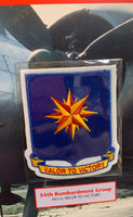 EMBLEMS of AIR WAR Willabee & Ward WWII 34th BOMBARDMENT GROUP PATCH