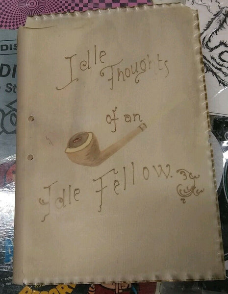 Vintage first edition of The Idle Thoughts of an Idle Fellow (ROUGH SHAPE)