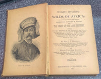 1890 HENRY STANLEY'S ADVENTURES in the Wilds of Africa The Dark Continent