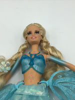 Barbie Fairytopia Wonder Fairy Joybelle Blue Wings Doll Blonde Rooted Lashes