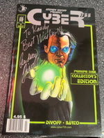ANDREW DIVOFF (The Wishmaster) presents CYBER 755 signed cover!