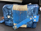 VTG Schylling Hero Childs Accordian Red White Blue Made Shanghai, China