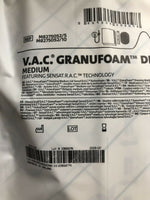 Two KCI V.A.C. Granufoam Dressing Medium M8275052, Exp. 11/2020