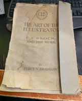 C.E. Brock And His Work, The Art Of The Illustrator, Percy Bradshaw, ca.