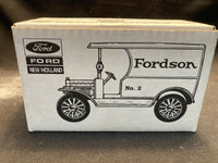 ERTL Ford New Holland Open Front Panel Side Truck Model Car