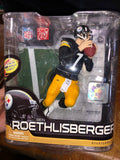 VTG NFL Series 28 Ben Roethlisberger #7Steelers 6in Action Figure McFarlane Toys