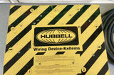 HUBBELL POWER DISTRIBUTION BOX SPIDER, WIRING DEVICE SBSB2, 50 AMP, 120/240 VAC