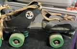 Mannings Adjustable Swivelers Roller Skates Turquoise Wheels