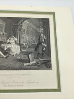 Matted Marriage a la Mode: Breakfast Scene the Original Picture by Hogarth Inc