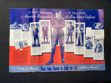 "Vintage WWII Era ""Let's Go Young America - It's Time For Camp"" Boyscout Brochure"