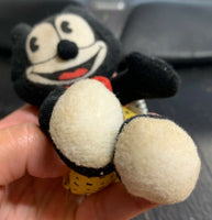 "Small 5"" Felix the Cat Mini Plush Toy, Wendy's, Determined Productions"