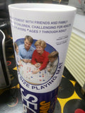 Jumbo Sequence Board Game in Tube - COMPLETE WITH MANUAL NEW - Vintage 1996