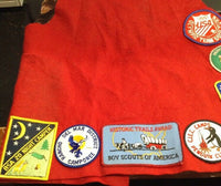 Vintage Boy Scout Vest With 10 Patches