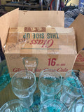 QTY 11 VTG 1950 1960 DRINK Coca Cola Soda Fountain Glasses HT White Star Libbey