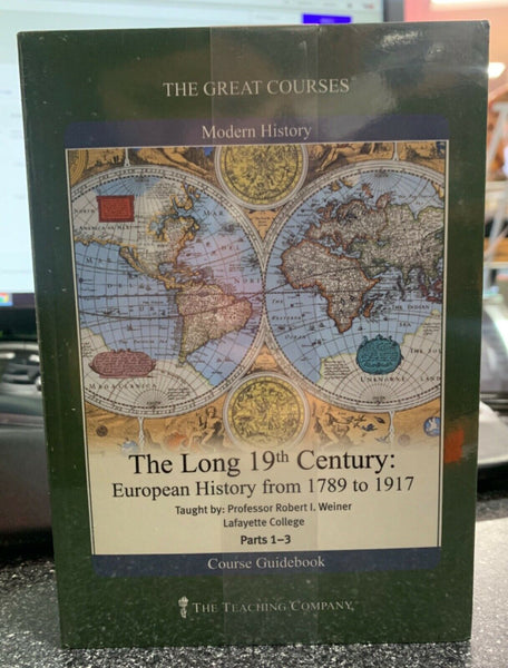 Great Courses The Long 19th Century European History 1789-1917 6 DVD Parts 1 - 3