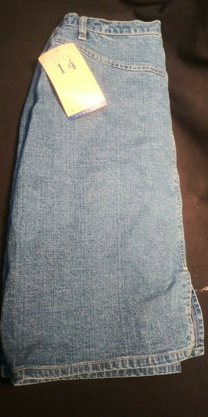 Westport - Classic Styling - Stretch Denim Skirt - Size 14