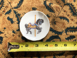 2 Willits Carousel Memories Mini Collectible Plates