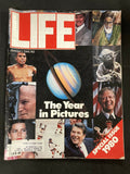 Vintage Life Magazine January 1981 The Year in Pictures Excellent Quality