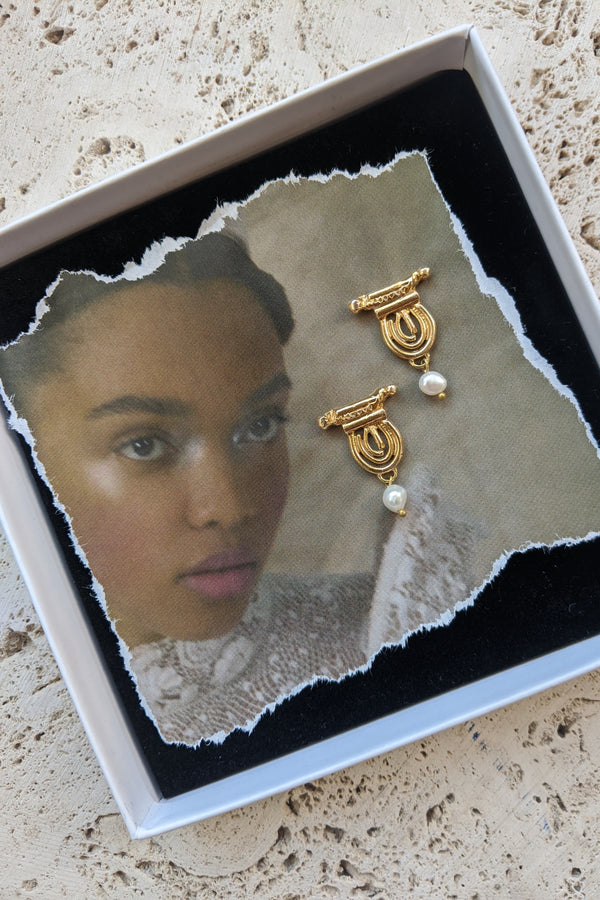 The Iris Earrings