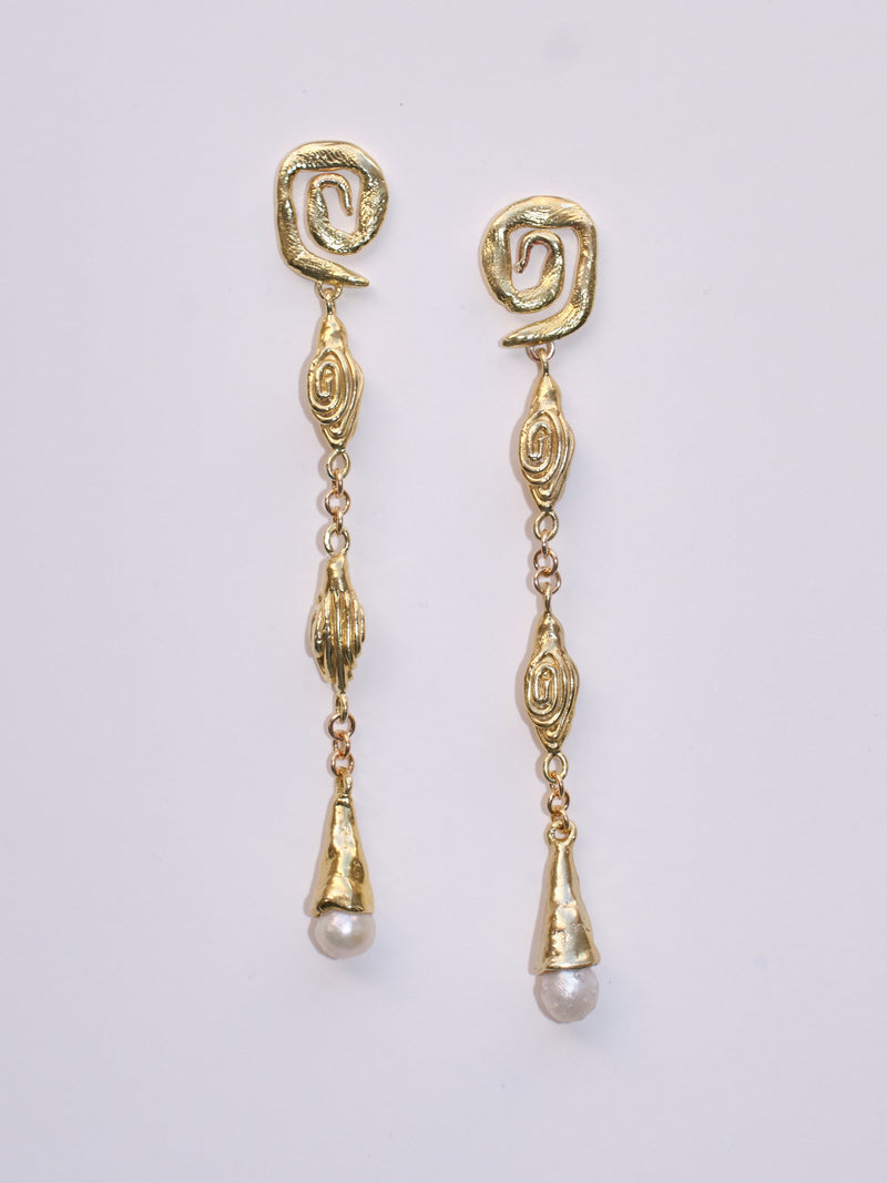 The Tangled Fantasy Earrings