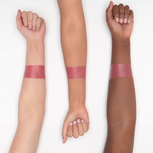 arm hand lique dreamy cream lipstick swatches