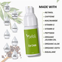 Anti Aging Eye Cream Moisturizer by Sefoli Skincare