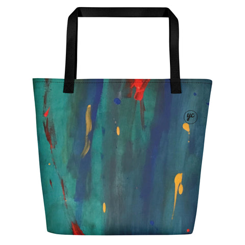Beach Abstract Bag