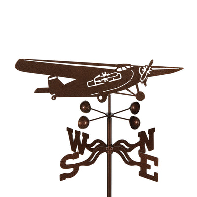 Tri-Motor Airplane Weathervane
