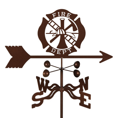 Fire Dept. Weathervane Roof Mount