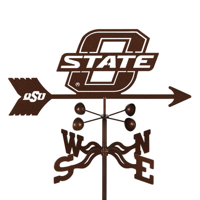 Oklahoma State Weathervane Roof Mount