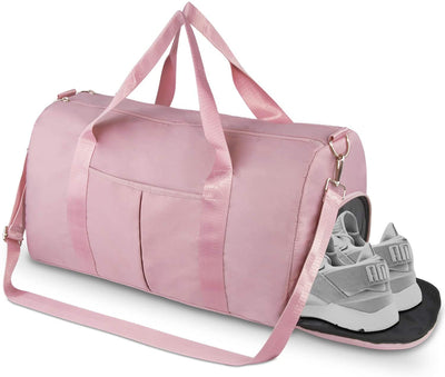 Dry Wet Separated Gym Duffle Bag