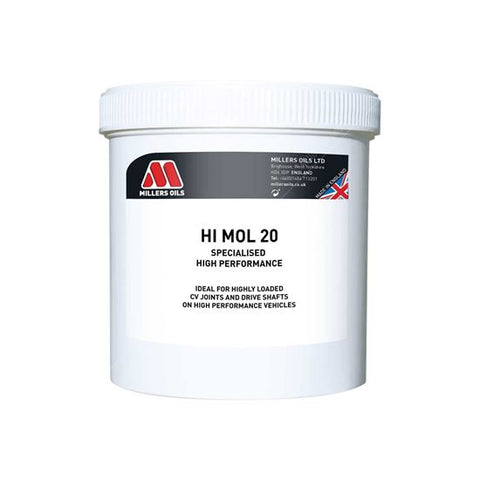 Hi-Mol 20 500 gram - Berry Smink British Car Parts