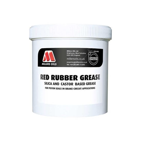 Red Rubber Grease 500 gram - Berry Smink British Car Parts