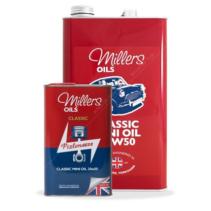Classic Mini Oil 20w50 25 liter verpakking - Berry Smink British Car Parts