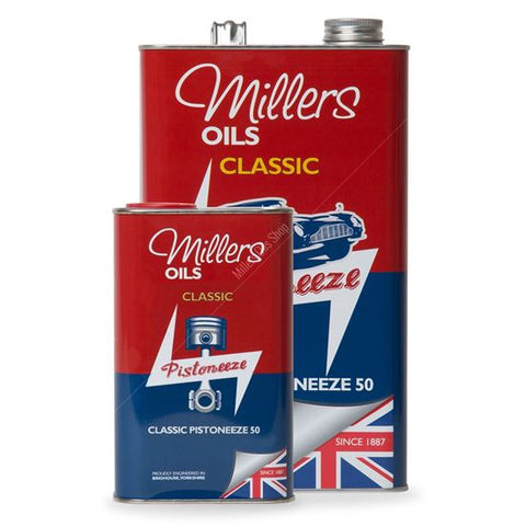Classic Pistoneeze 50 25 liter verpakking - Berry Smink British Car Parts