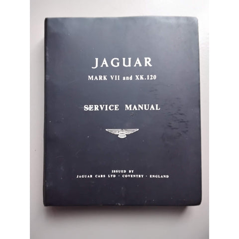 Jaguar mk7 and xk120 service manual