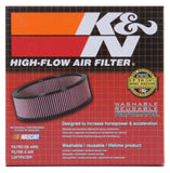 K&N Custom Racing Assembly - Round - Red - 5.875in OD x 4.875in ID x 1.75in H