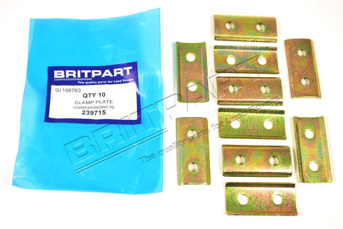 Uitlaatrubberplaat P4 - Berry Smink British Car Parts