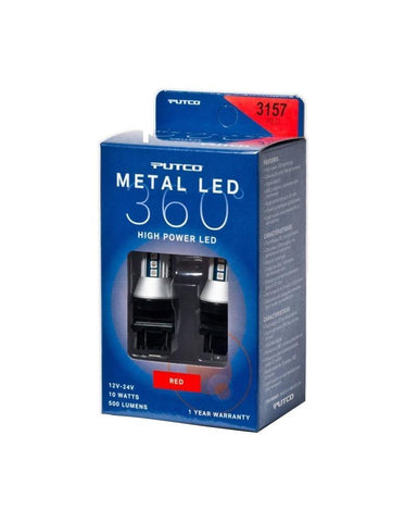 Putco 3157 - Red Metal 360 LED - SMINKpower.eu