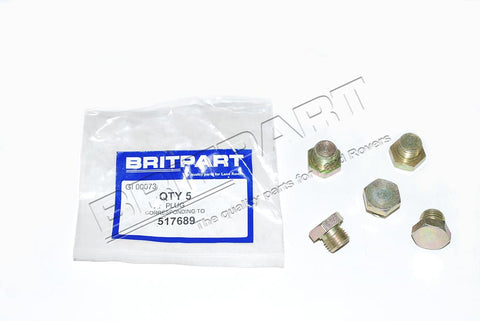 Oliepompdop V8 - Berry Smink British Car Parts
