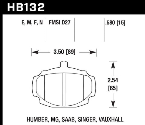 Hawk HP+ Street Brake Pads - SMINKpower.eu