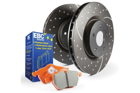 EBC S8 Kits Orangestuff and GD Rotors - SMINKpower.eu