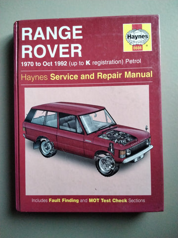 Haynes Range Rover werkplaatshandboek - Berry Smink British Car Parts