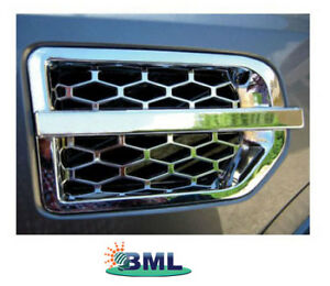 Discovery 3 Chrome Side Vent Trim - Berry Smink British Car Parts