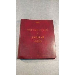 Jaguar 420 spare parts catalogue