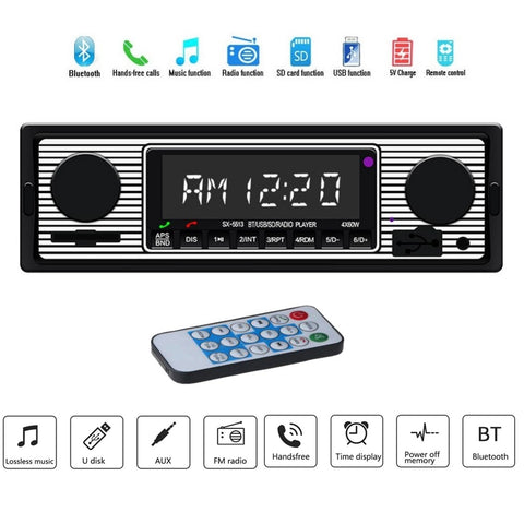 Klassieker Auto Radio Bluetooth MP3 - Berry Smink British Car Parts