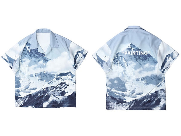 Snow Mountain Shirt - Swaggy Societies