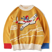 Air Fighter Sweater - Swaggy Societies