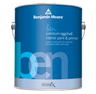 ben® Waterborne Interior Paint- Eggshell 626